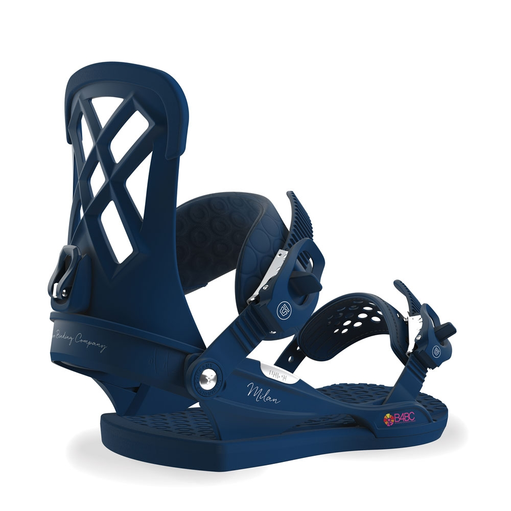 Union Milan Snowboard Binding Midnight Blue 2019