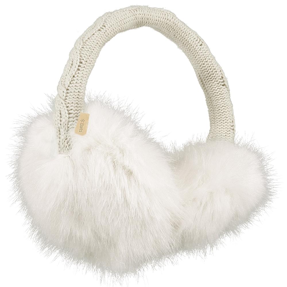Barts Fur Earmuffs White 2019