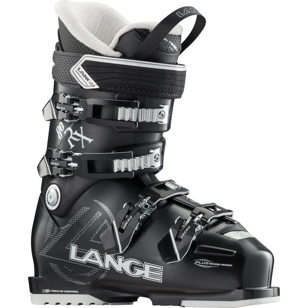 Lange RX 80 W Low Volume Ski Boots Black 2017