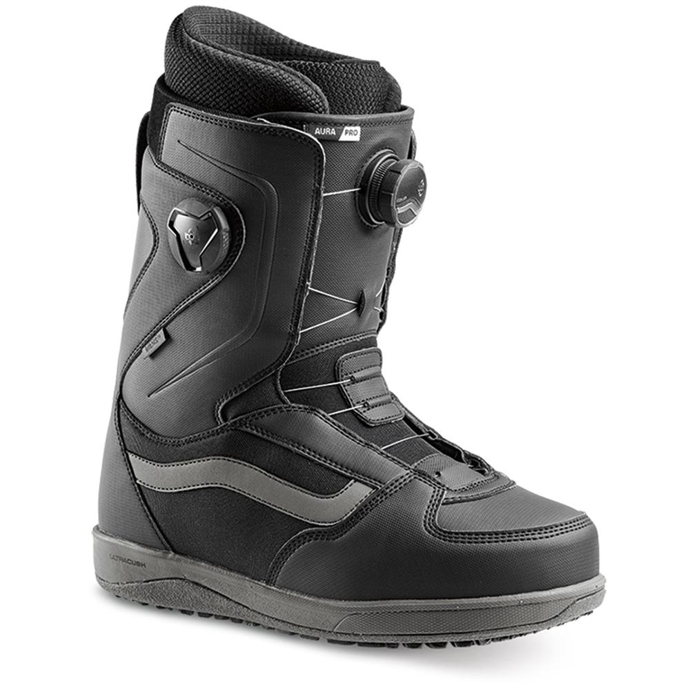 Vans Aura Pro Snowboard Boot Black/Grey 2019