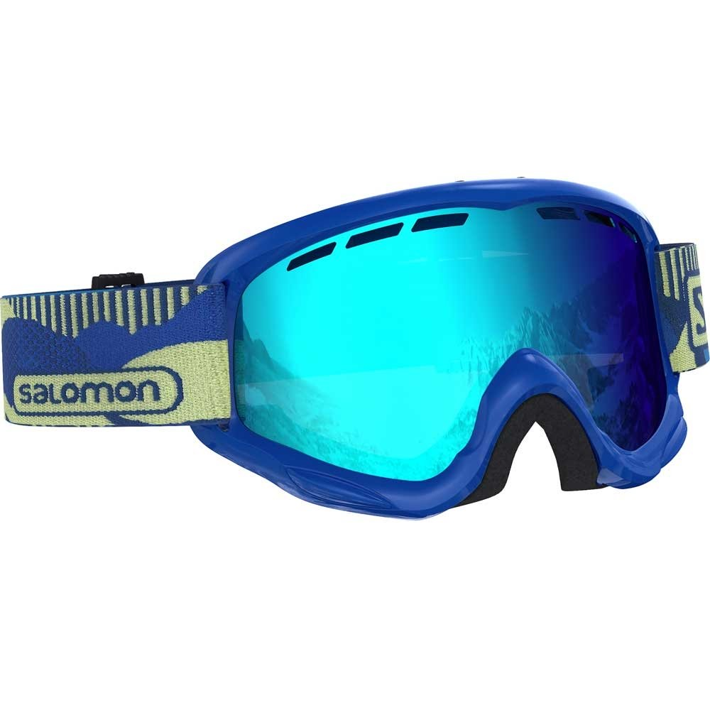 Salomon Juke Blue Pop Goggle with Universal Mid Blue Lens 2019