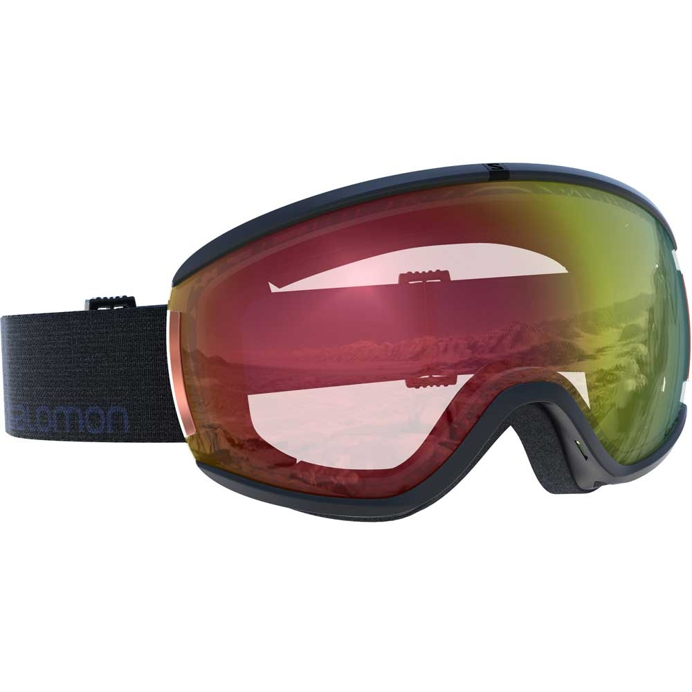 7a3d8cca857 Salomon Ivy Photo Black Goggle with All Weather Red Lens 2019 - Snowtrax