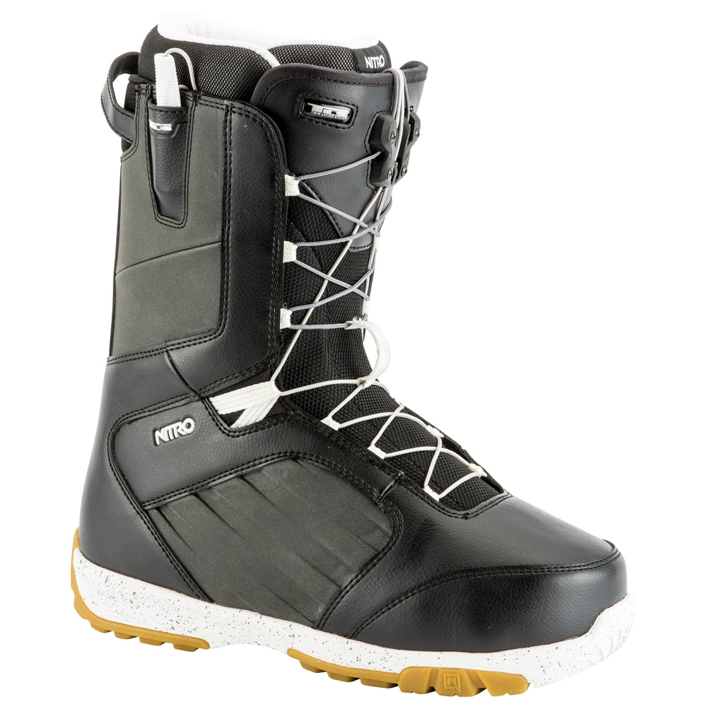 Nitro Anthem TLS Snowboard Boot Black/White 2019