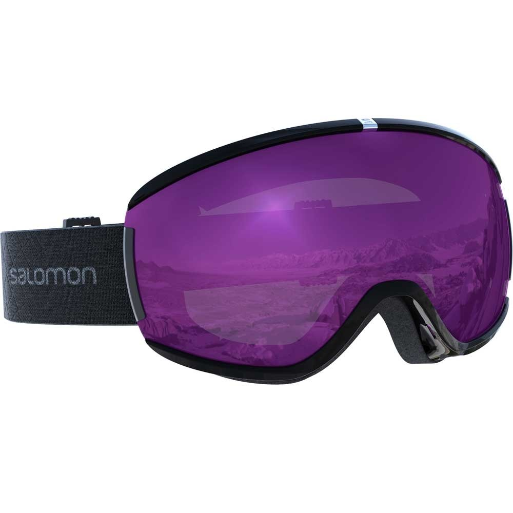 Salomon Ivy Black Goggle with Universal Ruby Lens 2019