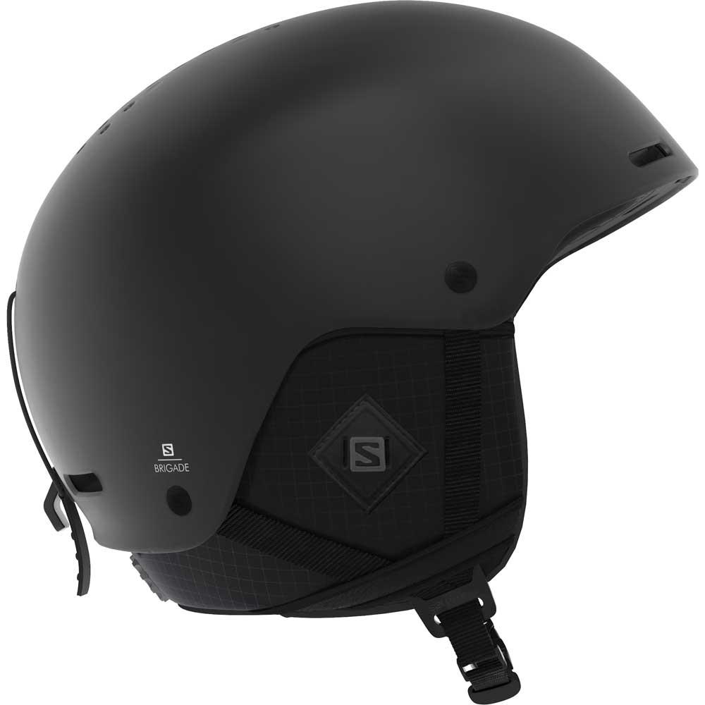 Salomon Brigade Plus Helmet All Black 2019