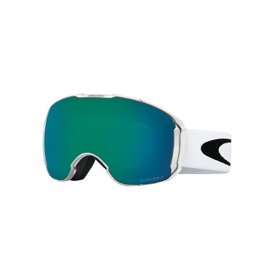 0e621f8c7e55 Oakley Airbrake XL Goggle Polished White with Prizm Jade   Prizm Sapphire