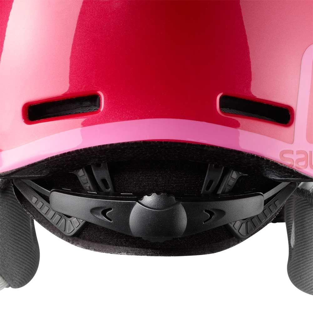 1ba2c44119ff ... Salomon Grom Visor Helmet Glossy Pink 2019