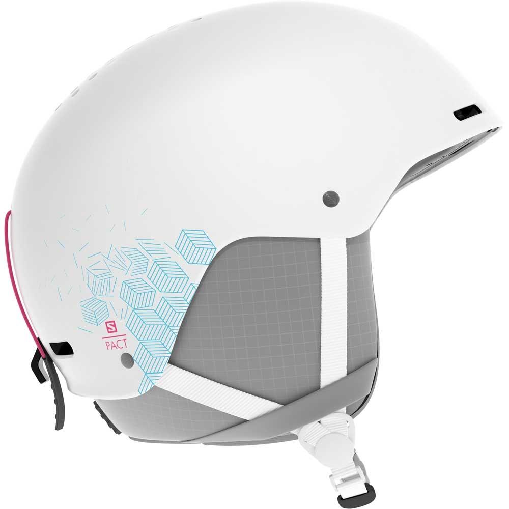 Salomon Pact Helmet White 2019
