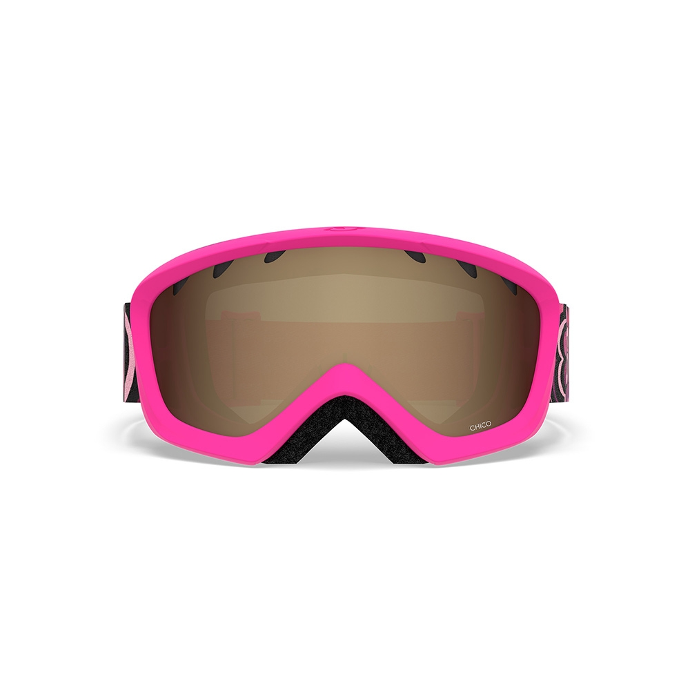 Giro Launch Combo Pack Jr Chico Goggle Matte Bright Pink Daizee 2019