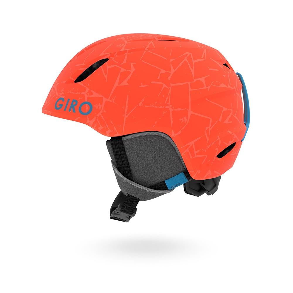 Giro Launch Combo Pack Jr Matte Vermillion Rocks 2019