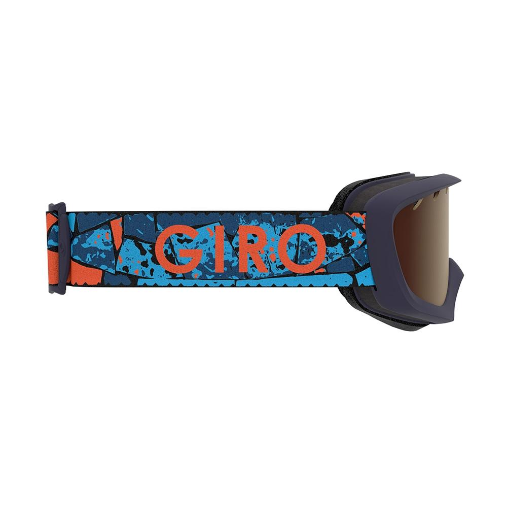 Giro Launch Combo Pack Jr Chico Goggle Matte Vermillion Rocks 2019