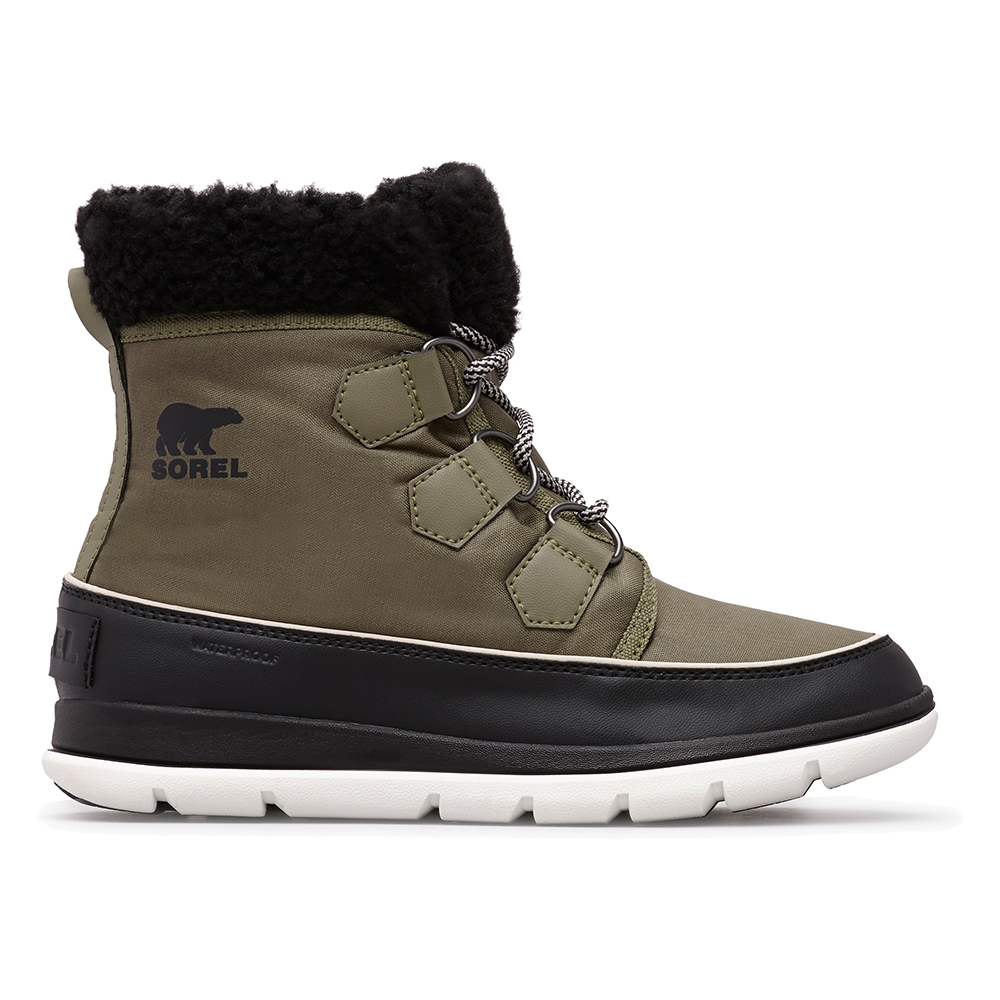 Sorel Explorer Carnival Boot Hiker Green 2019 Snowtrax