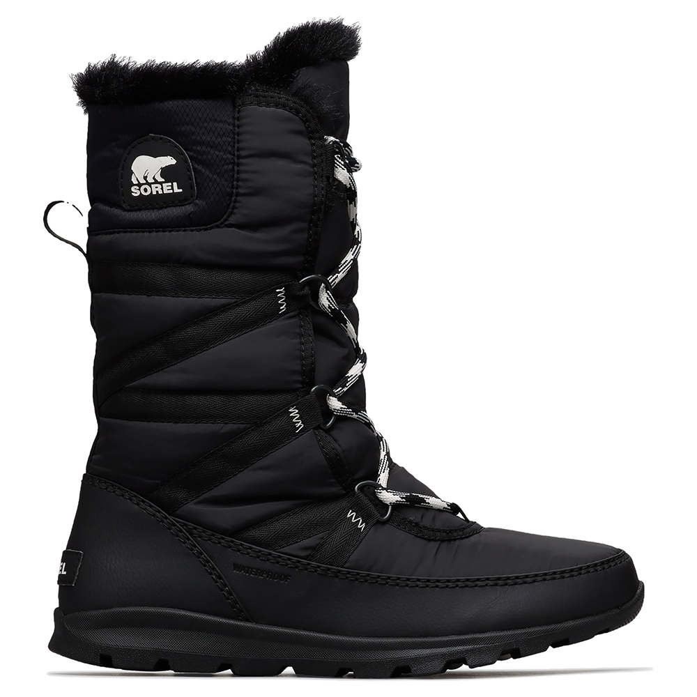 Sorel Whitney Tall Lace II Boot Black 2019