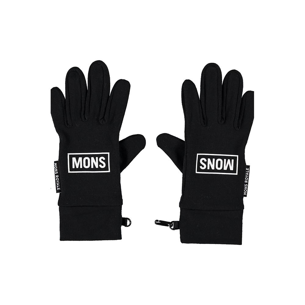 Mons Royale Elevation Gloves Black 2019