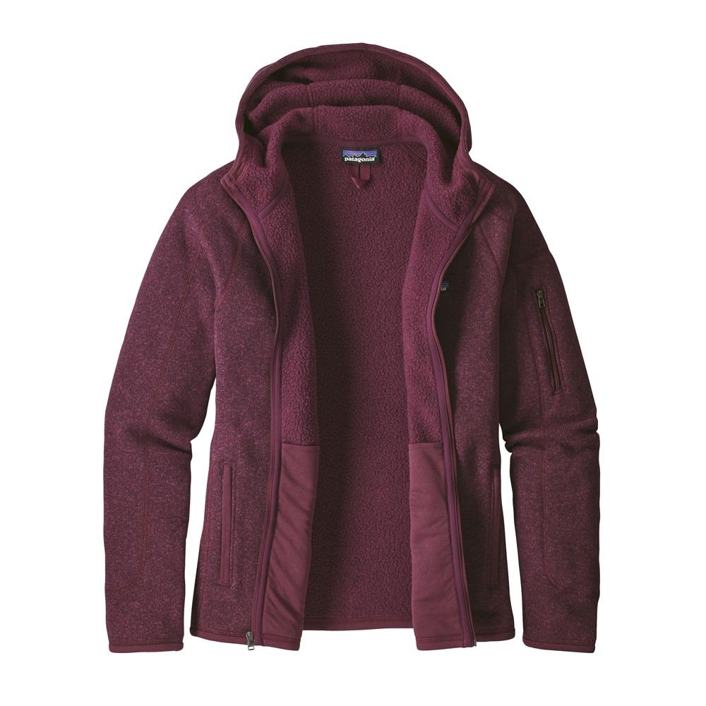 Patagonia Better Sweater Womens Hoody Dark Currant 2019