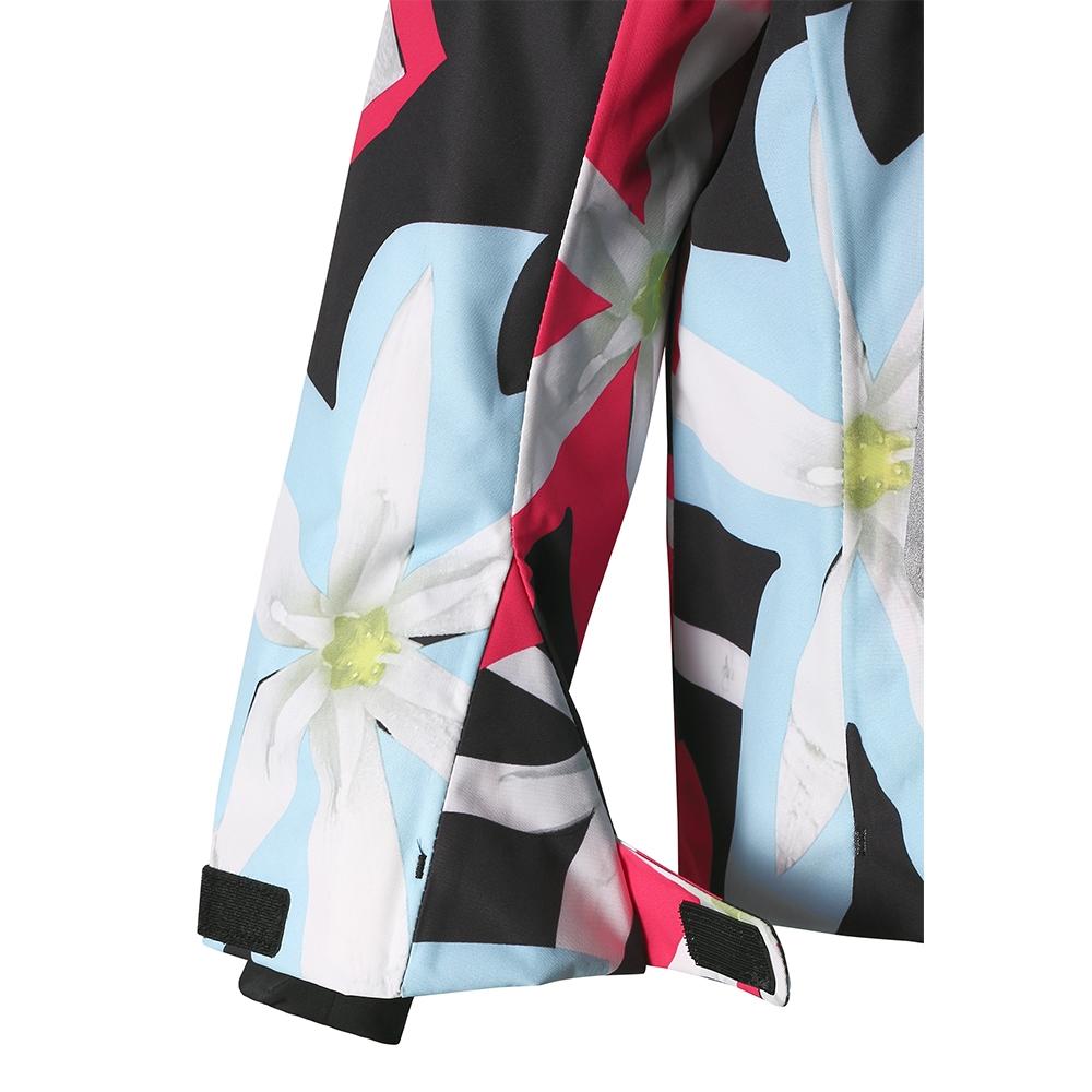 Reima Roxana Girls Jacket Black Print 2019