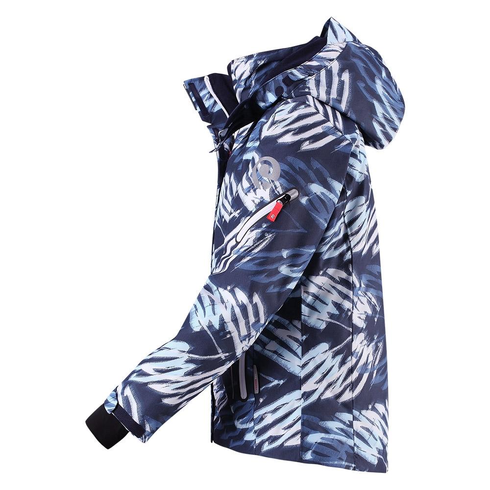 Reima Frost Girls Jacket Blue Print 2019