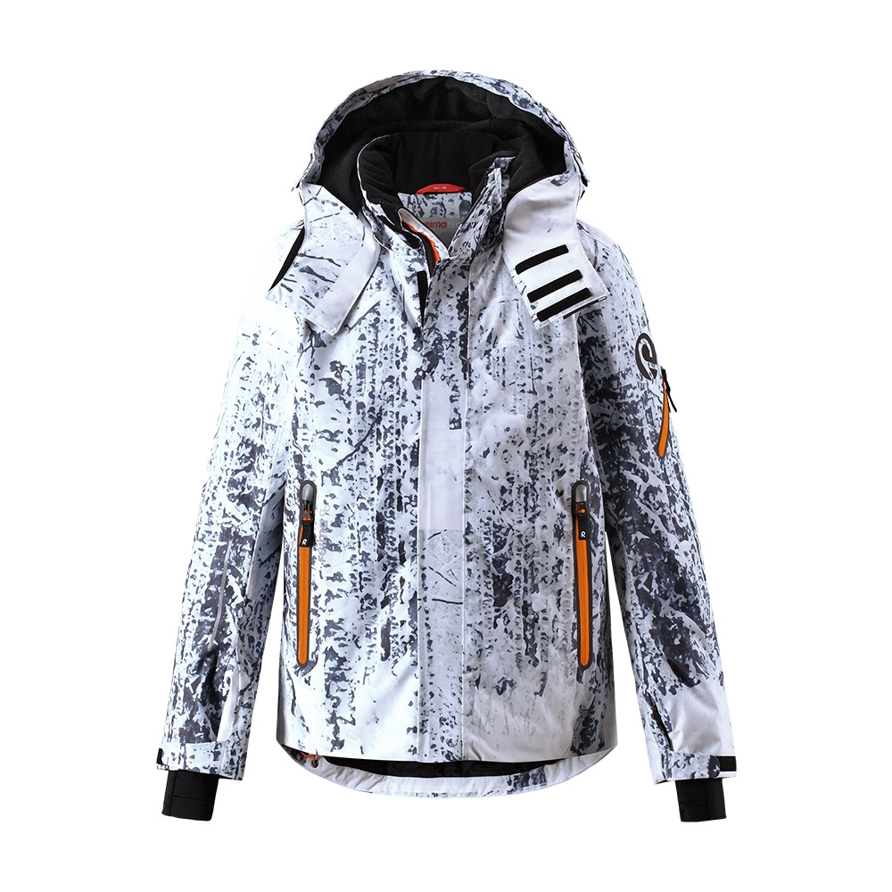 Reima Wheeler Boys Jacket White Print 2019