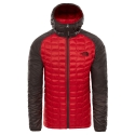 The North Face ThermoBall Sport Hoodie Rage Red/Brown 2019