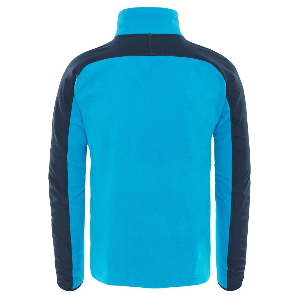 18482c8ab The North Face Mens Glacier Delta 1 4 Zip Sweatshirt - DREAMWORKS