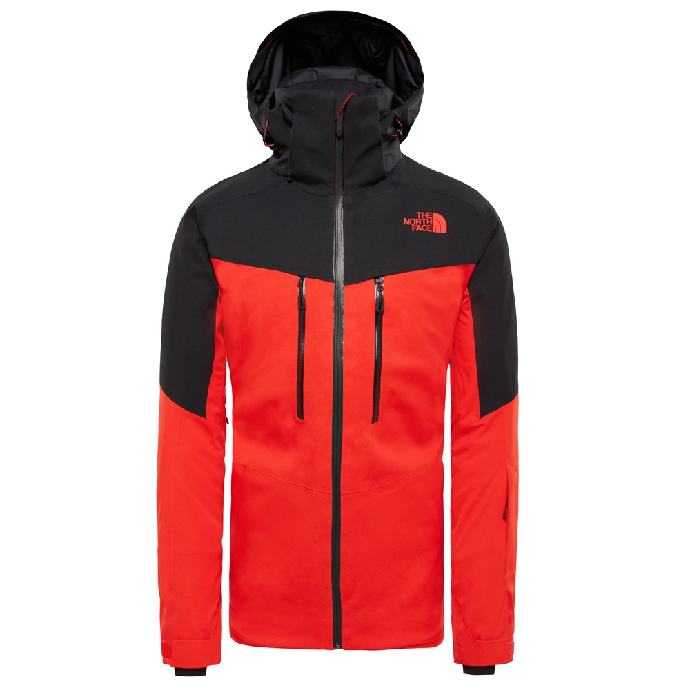 62343a408c The North Face Chakal Jacket Fiery Red   TNF Black 2019 - Snowtrax