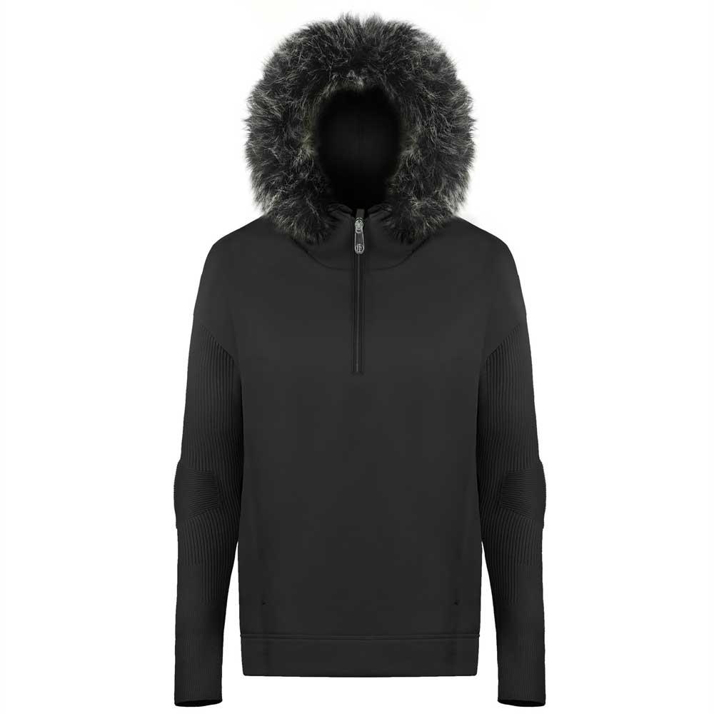 Poivre Blanc Hyrbid Sweater Black 2019