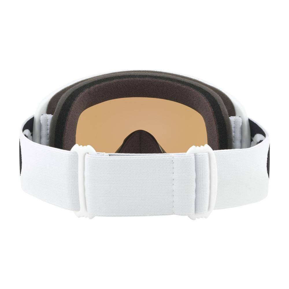 Oakley O Frame Matte White Goggle with Violet Iridium Lens 2019