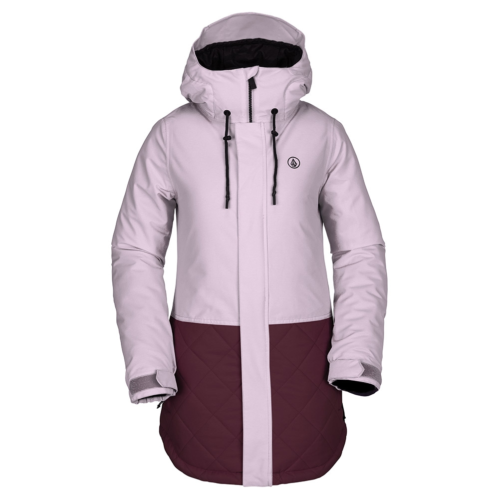 Volcom Winrose Insulated Womens Jacket Rosewood 2019