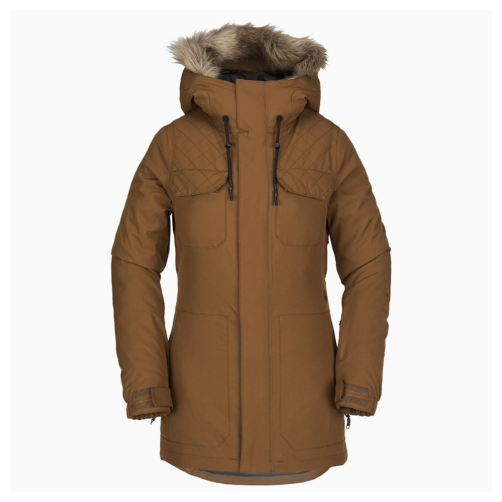 Volcom Shadow Insulated Womens Jacket Copper 2019