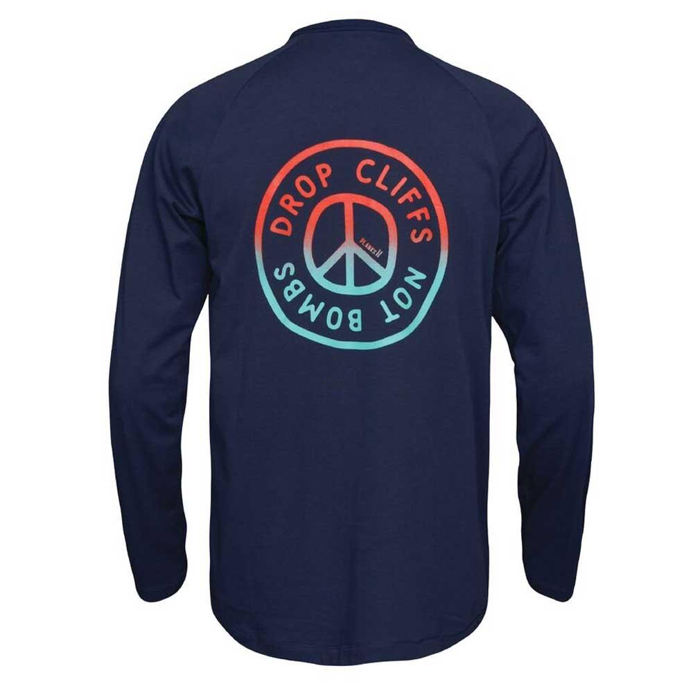 Planks Peace L/S T Shirt Navy 2019