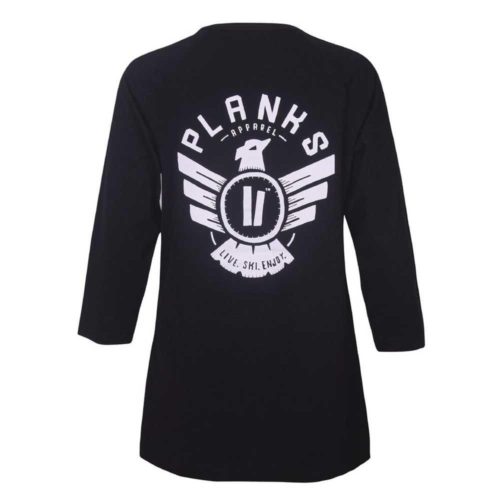 Planks Womens Eagle L/S T Shirt Black 2019