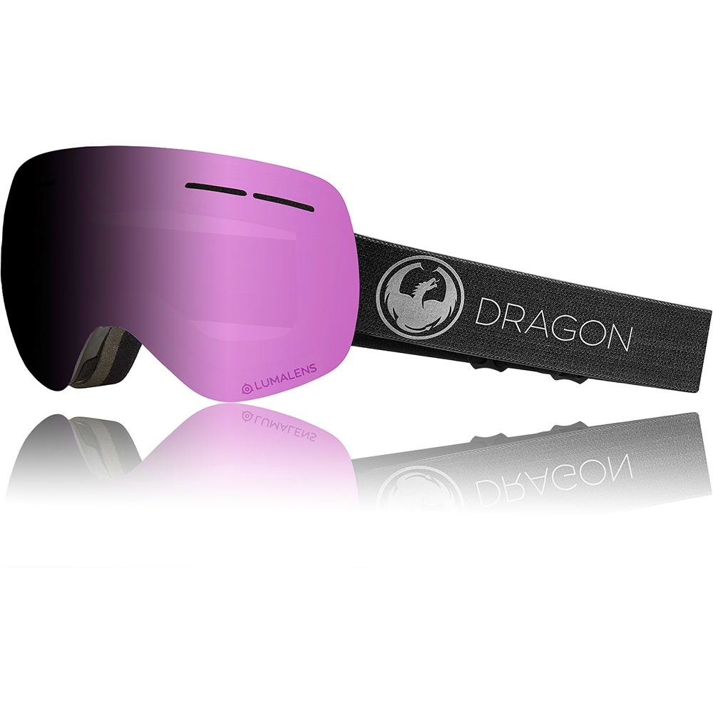 Dragon X1s Echo Goggle with Photochromic Rose Luma Lens 2019