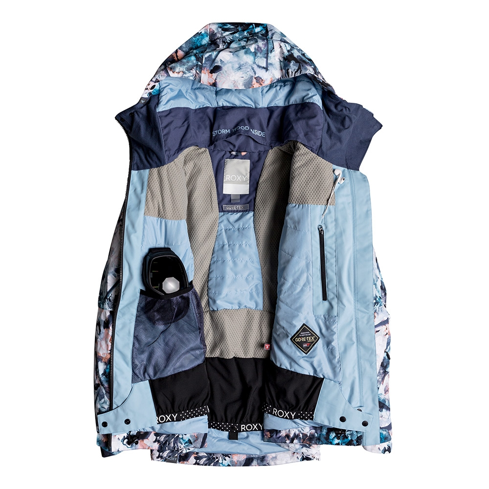 Roxy Essence 2L Gore Tex Jacket Bachelor Button water of Love 2019