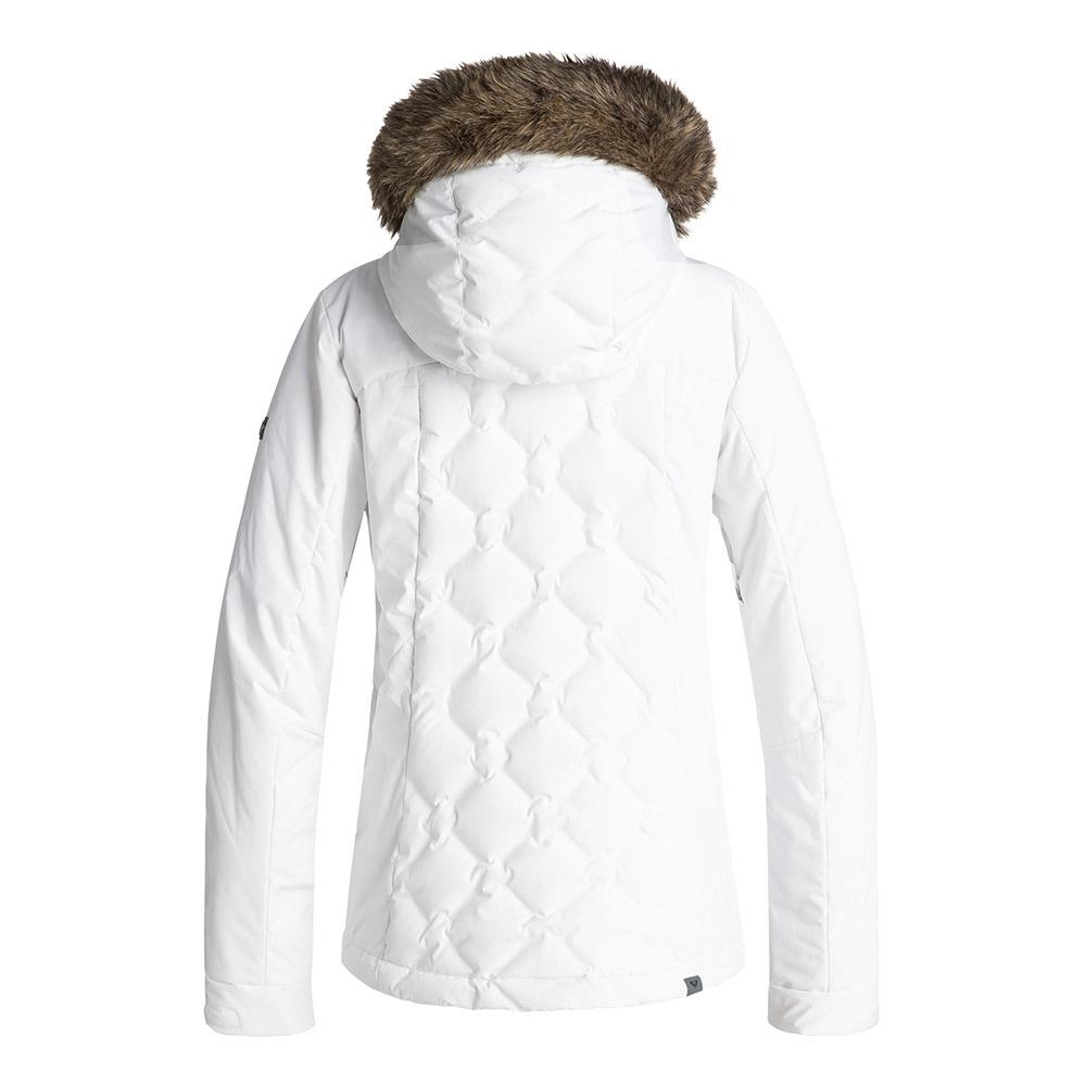 Roxy Breeze Jacket Bright White 2019