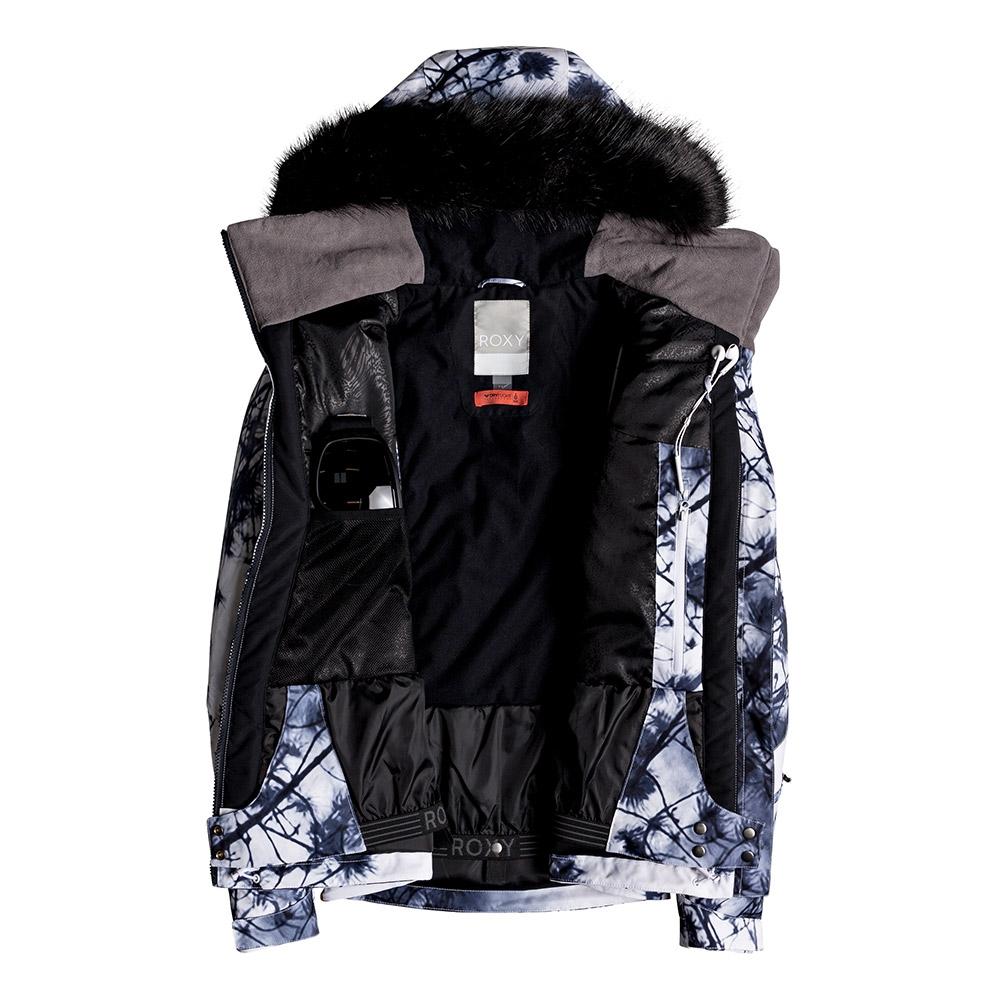 Roxy Jet Ski Premium Jacket Bright White Pine Ski 2019