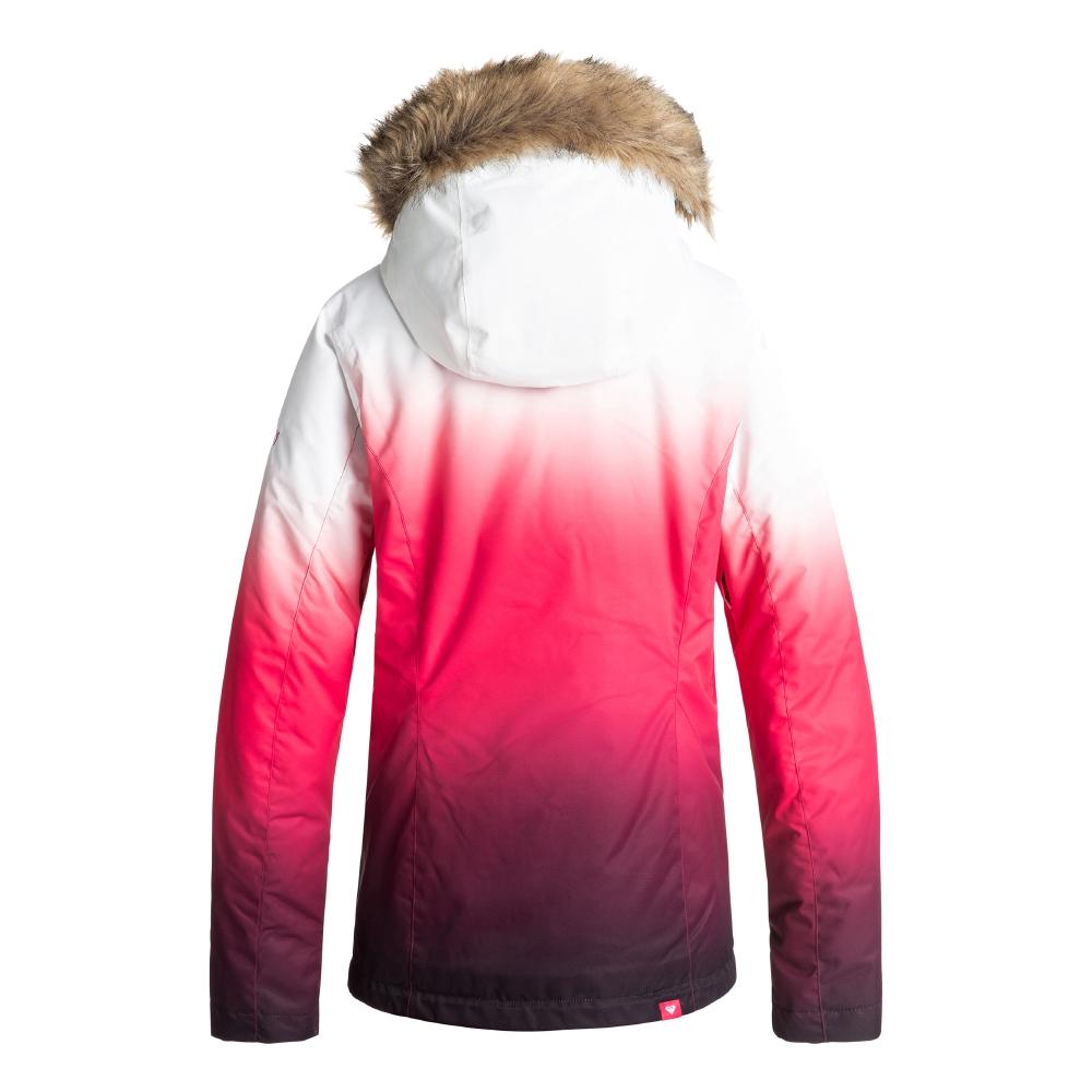 Roxy Jet Ski SE Jacket Tea Berry Wave Gradient 2019