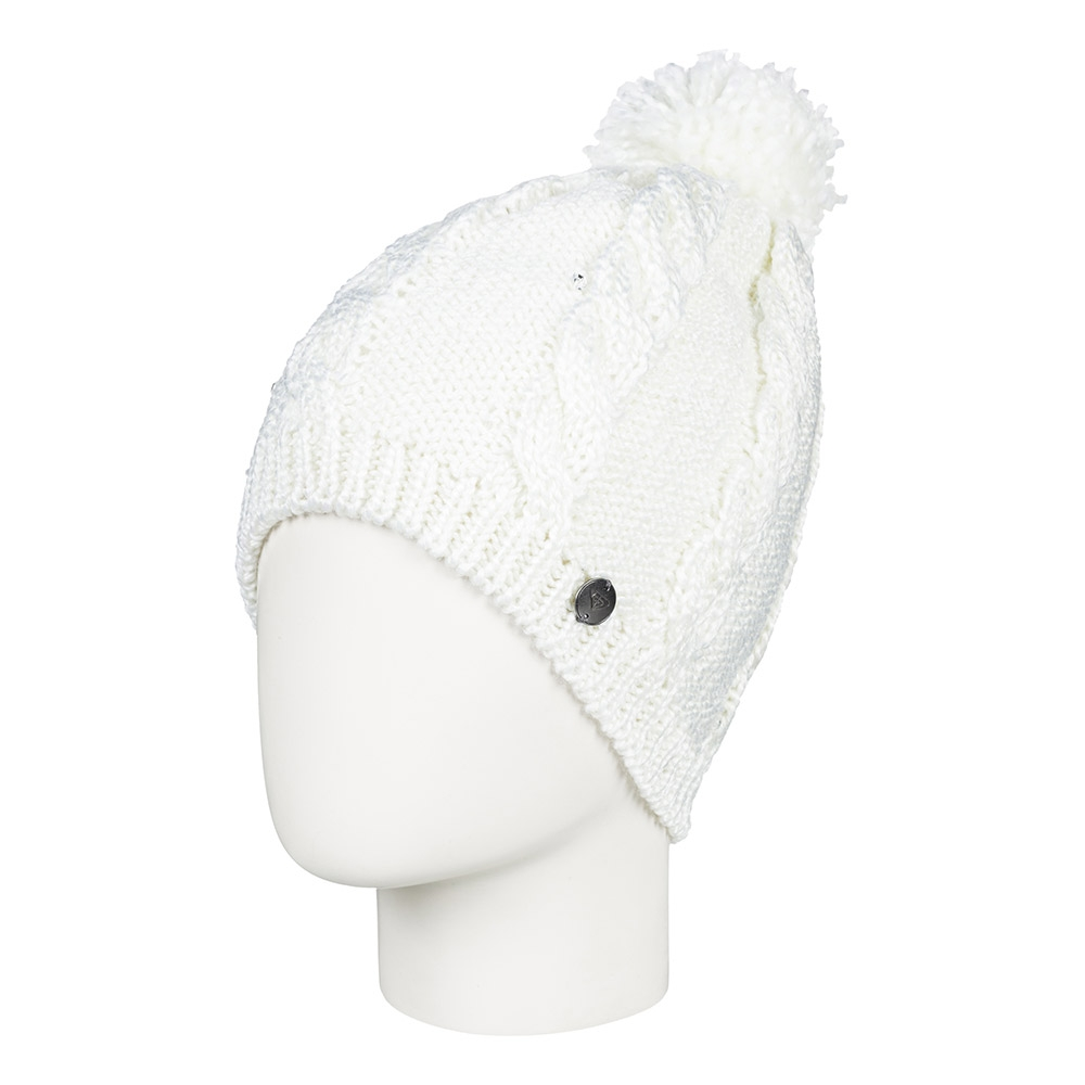 Roxy Shooting Star Girl Beanie Bright White 2019