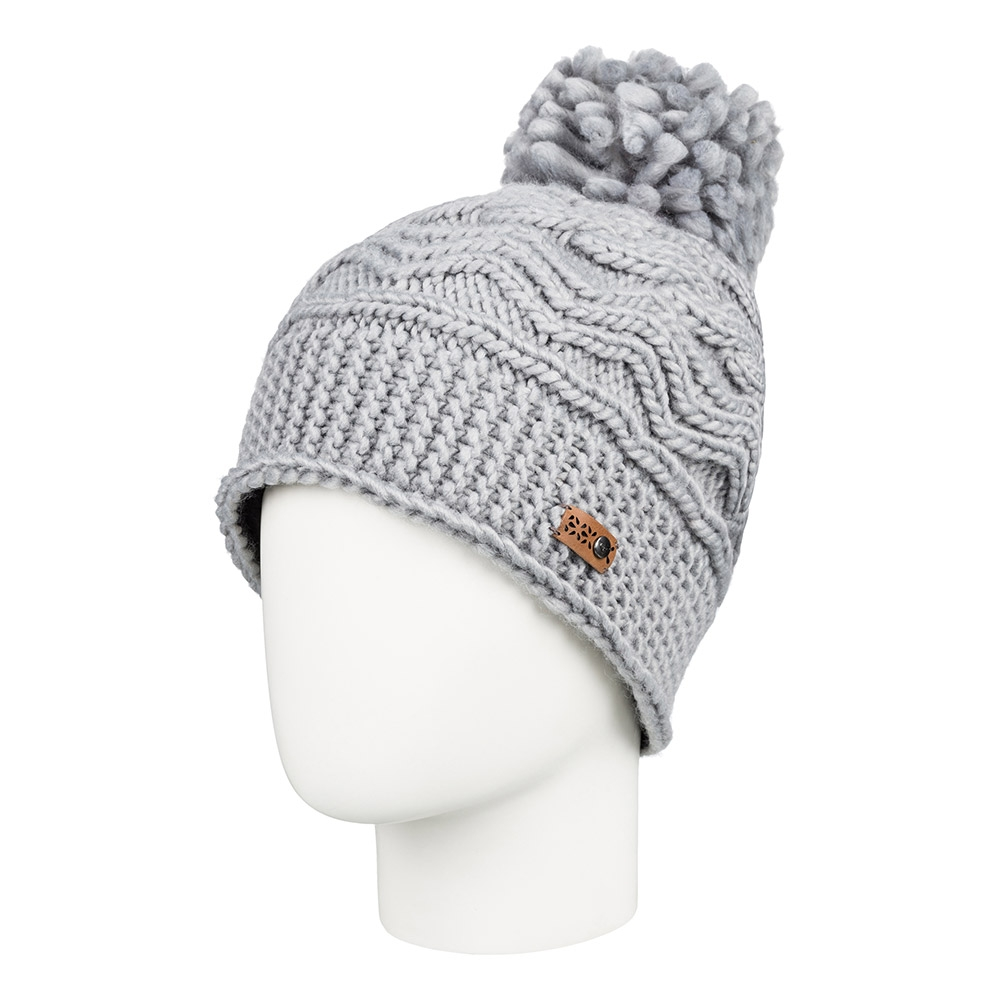 509237e14a2 Roxy Winter Beanie Warm Heather Grey 2019