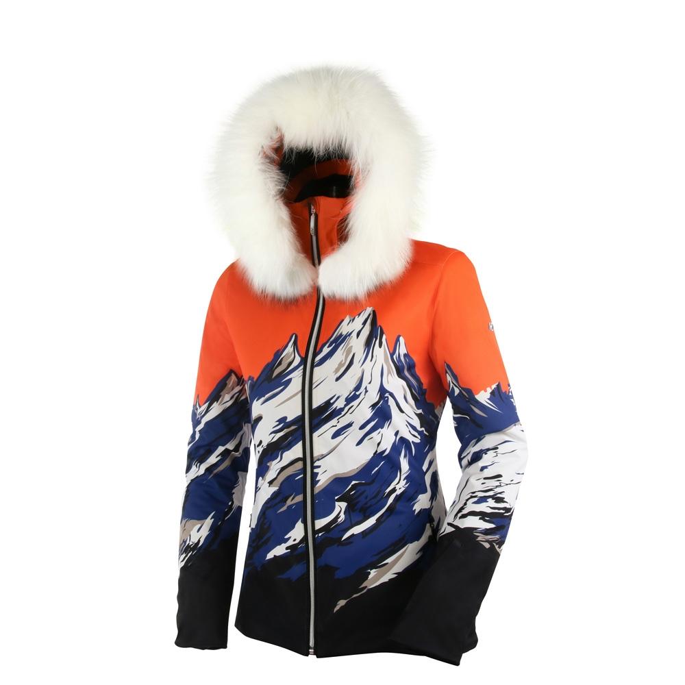 Henri Duvillard Blanca Real Fur Jacket Multicolour 2019