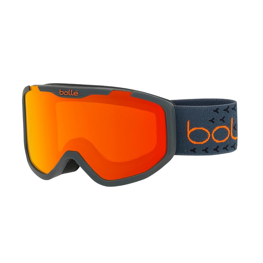 9b6fb02c7b1 Bolle Rocket Plus Goggle Matte Dark Grey Orange Sunrise 2019 - Snowtrax