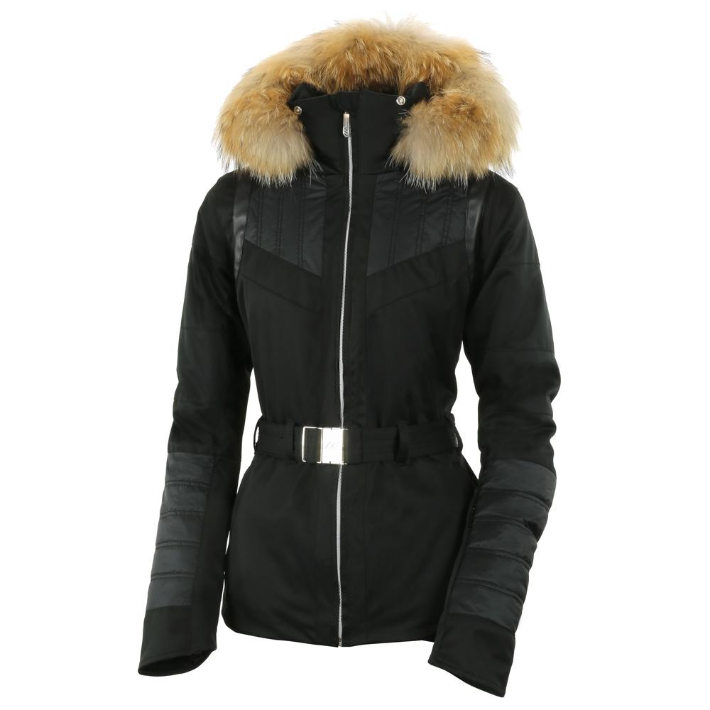 Henri Duvillard Teide Real Fur Jacket Black 2019