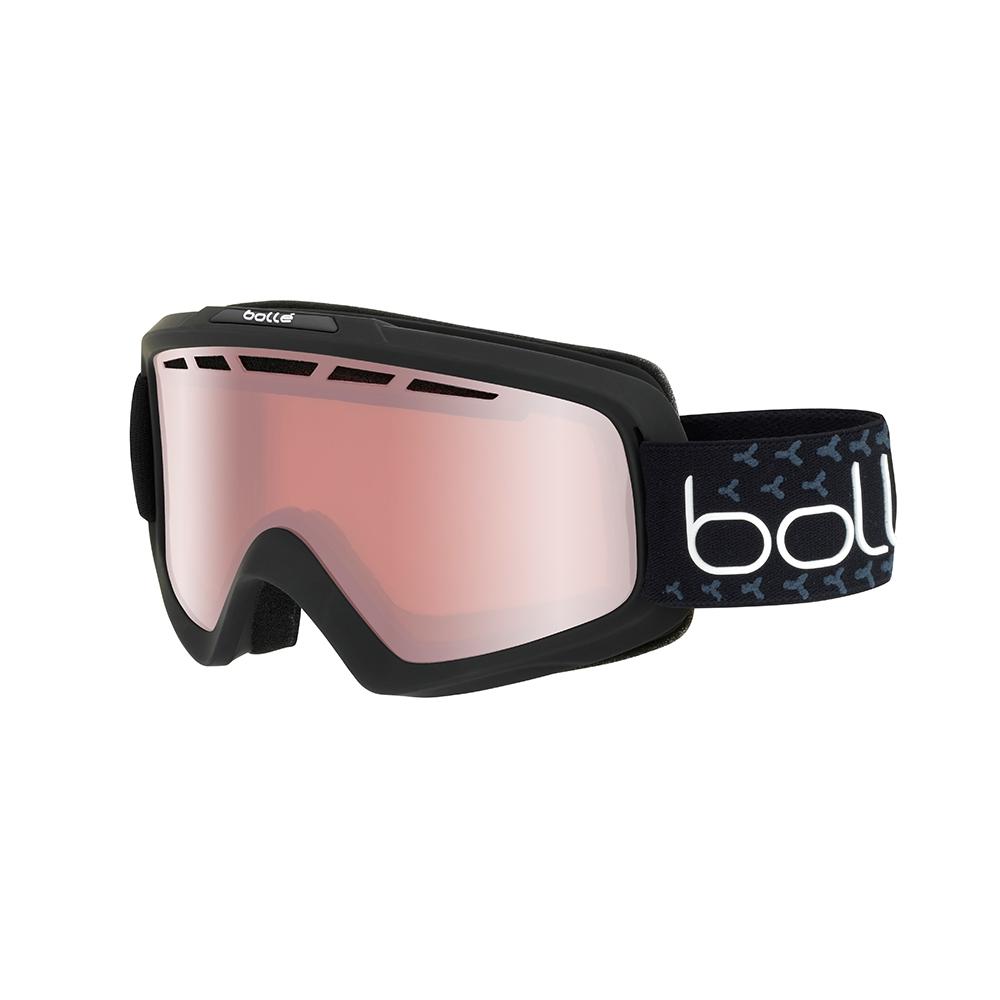 Bolle Nova II Goggle Matte Black/White Vermillion Gun 2019