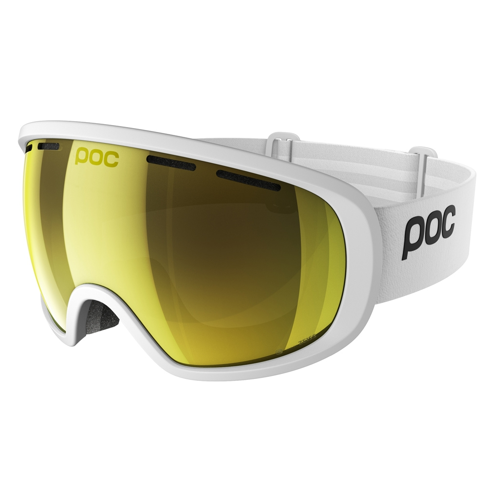 POC Fovea Clarity Goggle Hydrogen White/Spektris Gold 2019