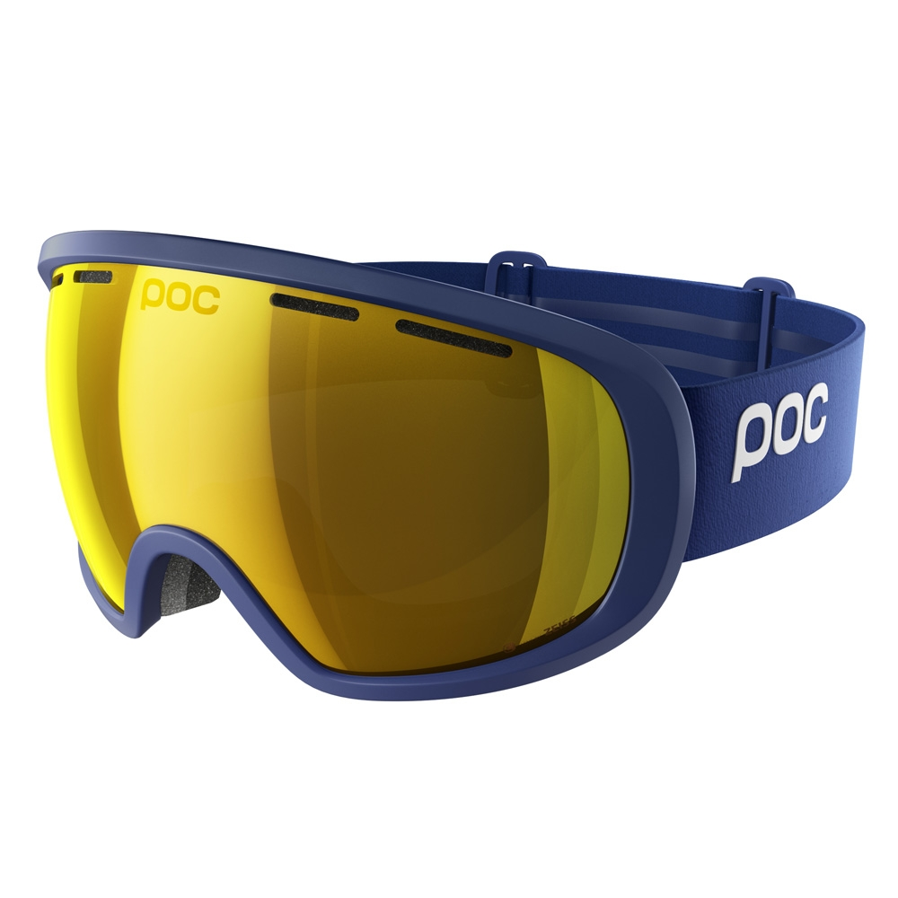 POC Fovea Clarity Goggle Basketane Blue/Spektris Orange 2019