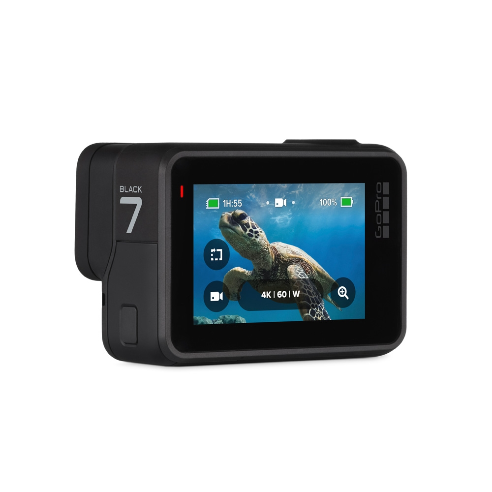 Screen View for the GoPro HERO7 Black 4K Action Camera with SD Card