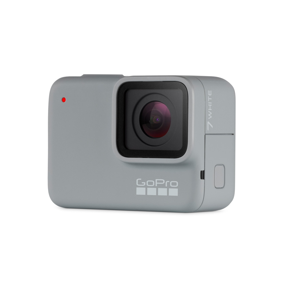 GoPro HERO7 White HD Action Camera - Quarter on View