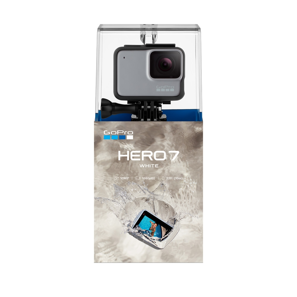 GoPro HERO7 White HD Action Camera - Boxed View