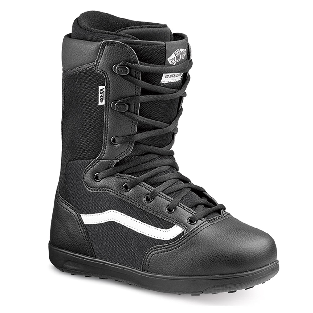 Vans Womens Hi Standard Snowboard Boot Black/White 2019