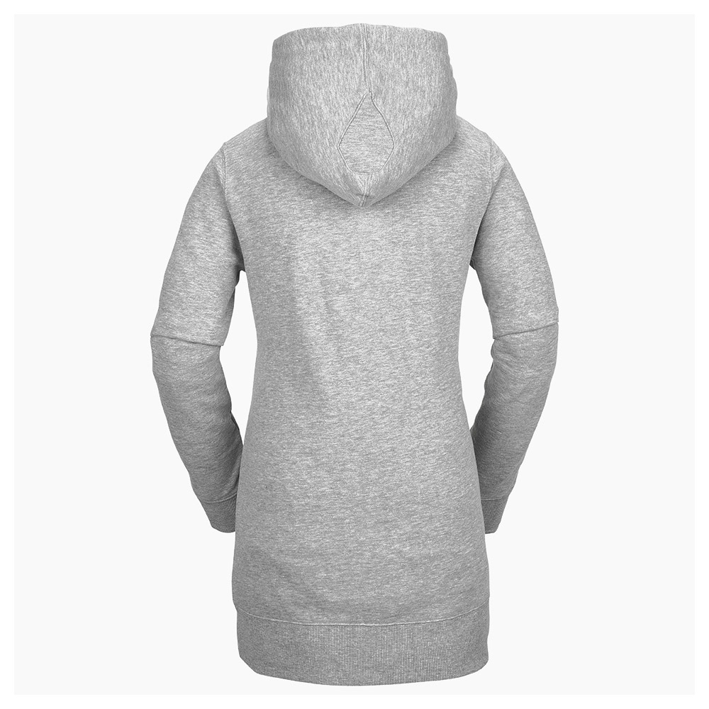 Volcom Costus Womens Pullover Fleece Heather Grey 2019