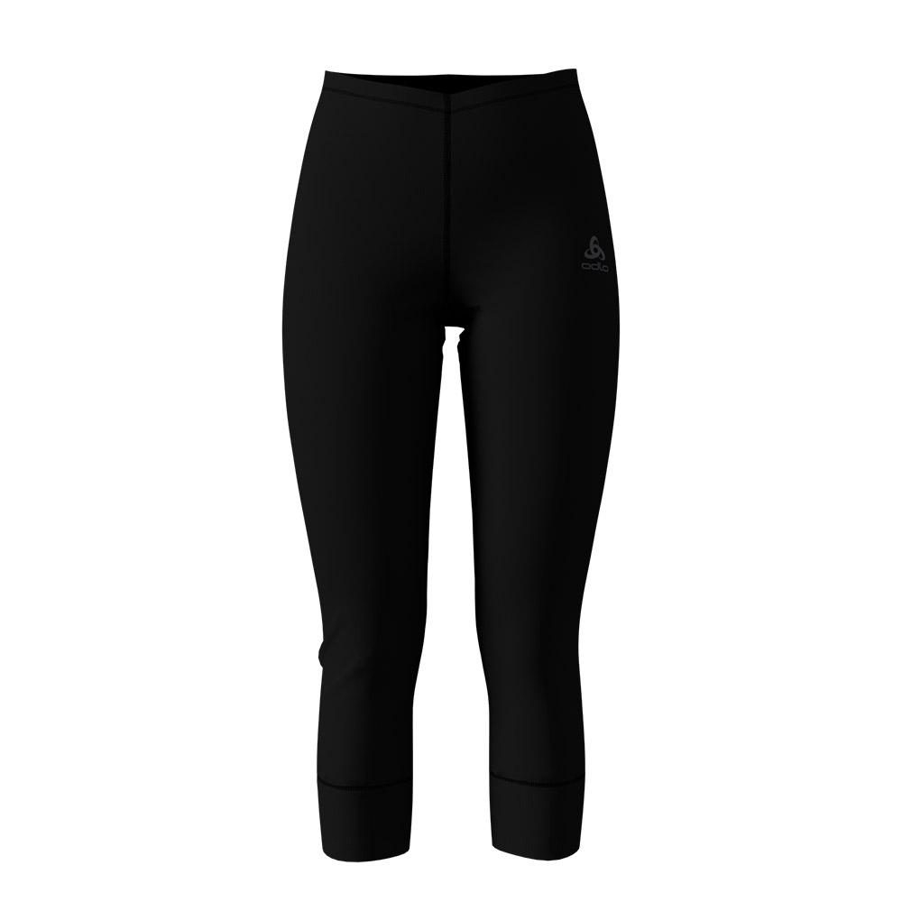 Odlo Active Originals Warm Womens Pants 3/4 Black 2019